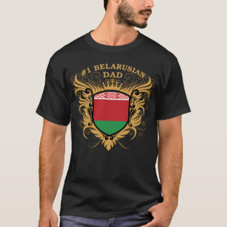Number One Belarusian Dad T-Shirt