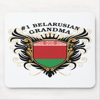 Number One Belarusian Grandma Mouse Pads