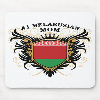 Number One Belarusian Mom Mouse Pads