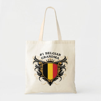 Number One Belgian Grandma Canvas Bags