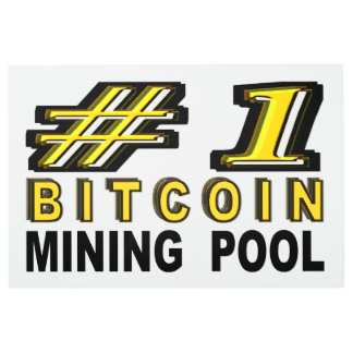 Number One Bitcoin Mining Pool Metal Print