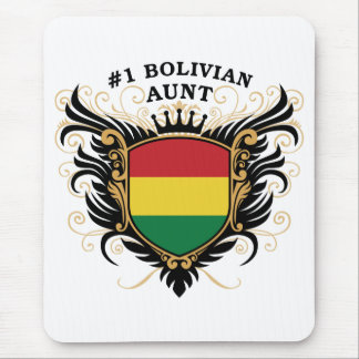 Number One Bolivian Aunt Mouse Pad