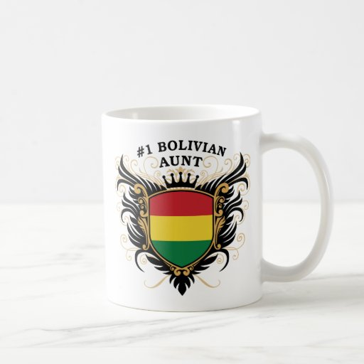 Number One Bolivian Aunt Mugs