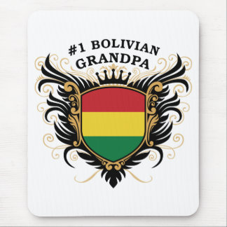 Number One Bolivian Grandpa Mouse Pad