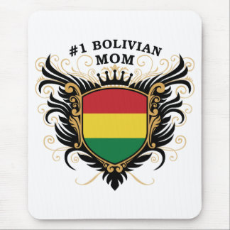Number One Bolivian Mom Mouse Pad