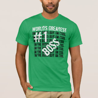 Number One Boss T-Shirt