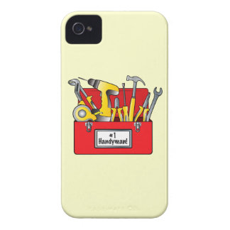 Number One Boss with Tool Box iPhone 4 Case-Mate Case