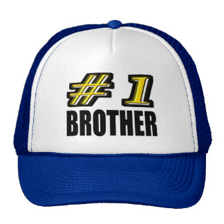 Number One Brother Trucker Hat