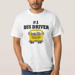 Number One Bus Driver Shirt