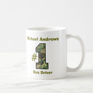 Number One Bus Driver V36 Coffee Mug