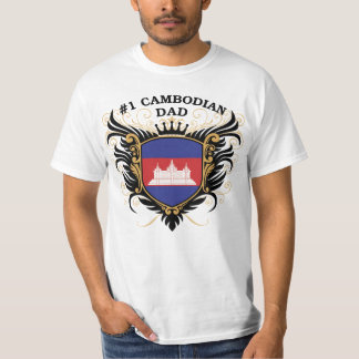 Number One Cambodian Dad T-Shirt