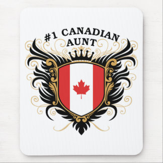 Number One Canadian Aunt Mouse Pad
