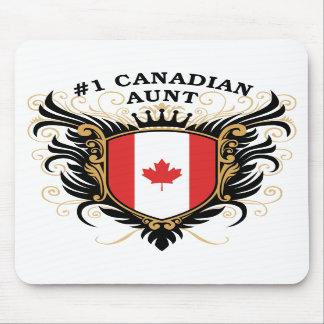 Number One Canadian Aunt Mouse Pads