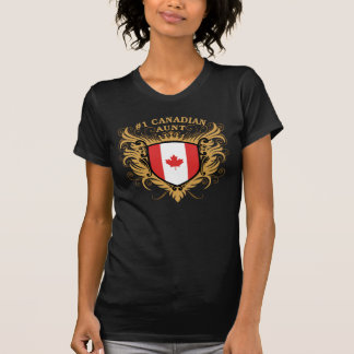 Number One Canadian Aunt T Shirt