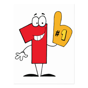 Number One Cartoon Character Gifts on Zazzle