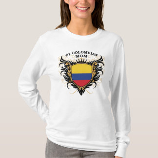 Number One Colombian Mom T-Shirt