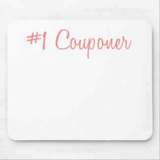 Number One Couponer.png Mouse Pad