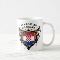 Number One Croatian Grandma Coffee Mug