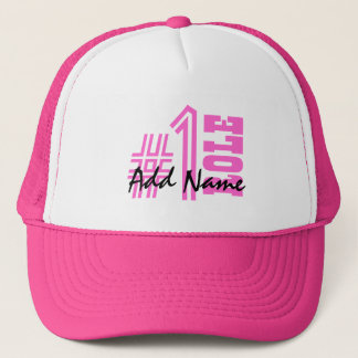 Number One Custom Name and Role Z501A Trucker Hat