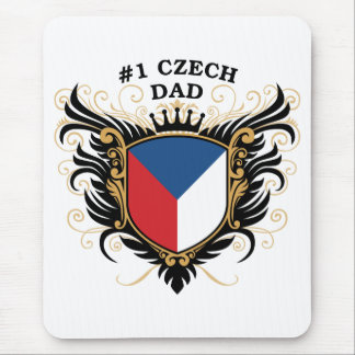 Number One Czech Dad Mouse Pad