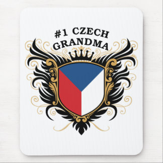 Number One Czech Grandma Mouse Pad