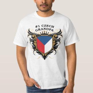Number One Czech Grandpa T-Shirt