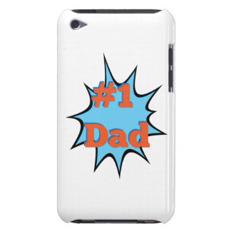 Number One Dad #1 iPod Touch Case