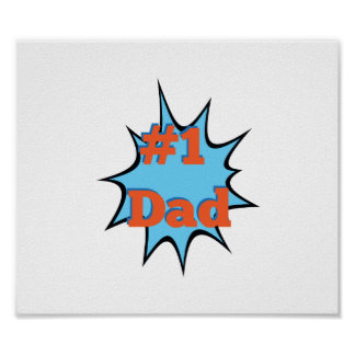 Number One Dad #1 Poster