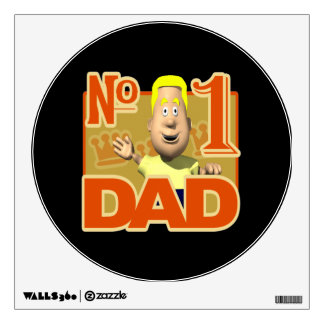 Number One Dad 3.png Wall Sticker