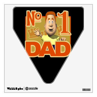 Number One Dad 4.png Wall Decal