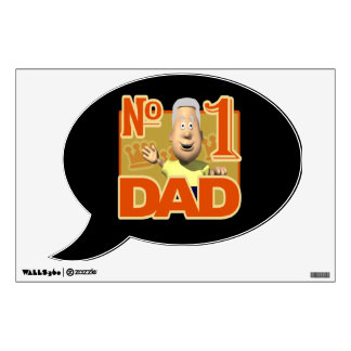 Number One Dad 6.png Wall Decal