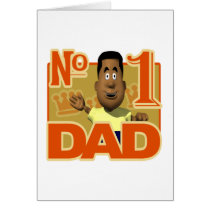 Number One Dad Card