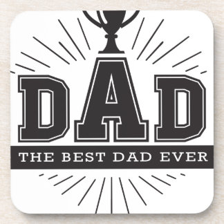Number_One_Dad Coaster