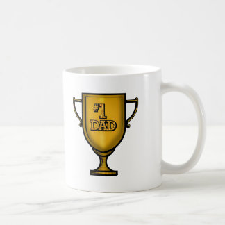 Number One Dad Gifts For Him Classic White Coffee Mug