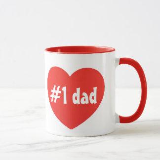 number one dad goblet mug