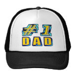 Number One Dad Mesh Hat