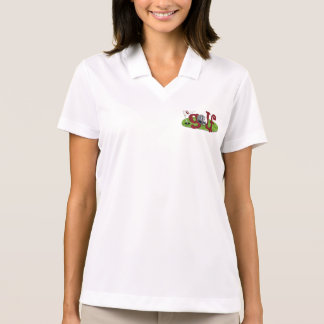 Number one Dad/Mom Personalized Gift for Golfers Polo Shirts