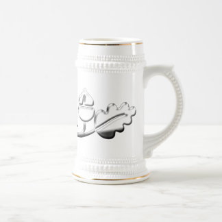 Number One Dad Mug Silver Acorns