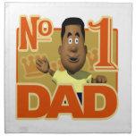 Number One Dad Napkins