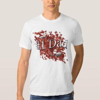 Number One Dad Oak Shirt