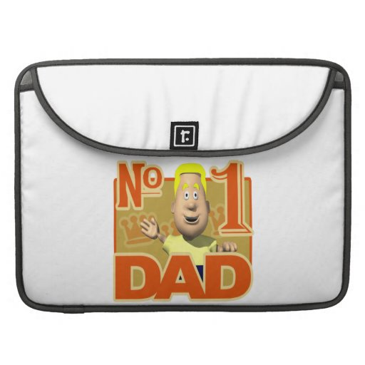 Number One Dad Sleeves For MacBook Pro