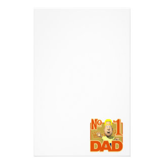 Number One Dad Stationery