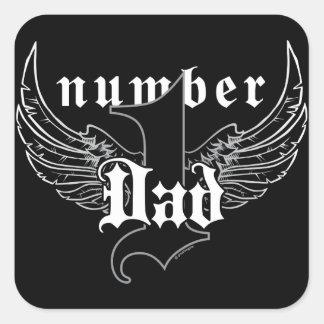 Number One Dad Sticker II