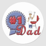 Number One Dad Stickers