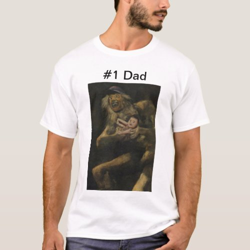 Number One Dad T_Shirt