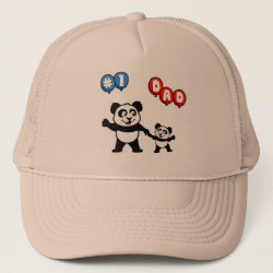Number One Dad Trucker Hat