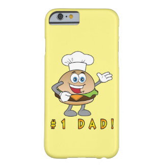 Number One Dad with Cheeseburger Barely There iPhone 6 Case