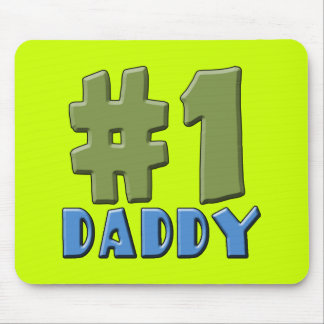 Number One Daddy Products Mouse Pad
