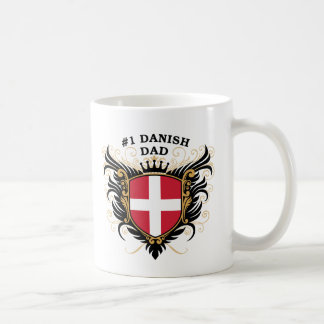 Number One Danish Dad Coffee Mug