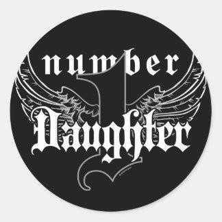 Number One Daughter Sticker II